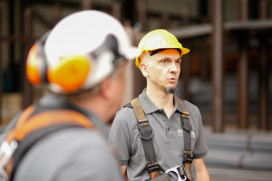 Kranwartung Baustelle Hugstetten Schaller Aug 2015